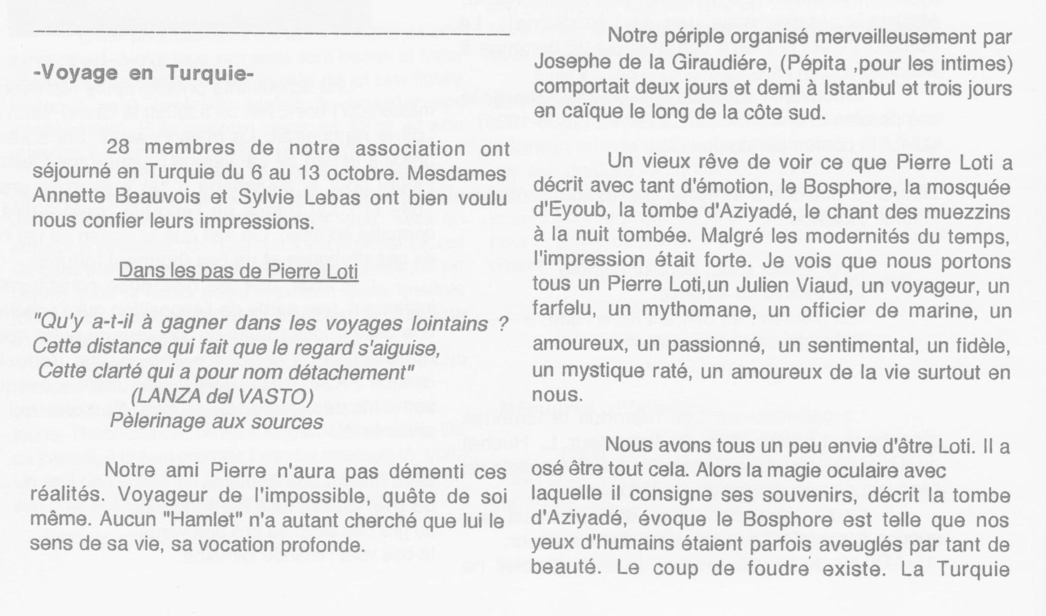 Voyage en Turquie-du 6 au 13 octobre 2000-page1a