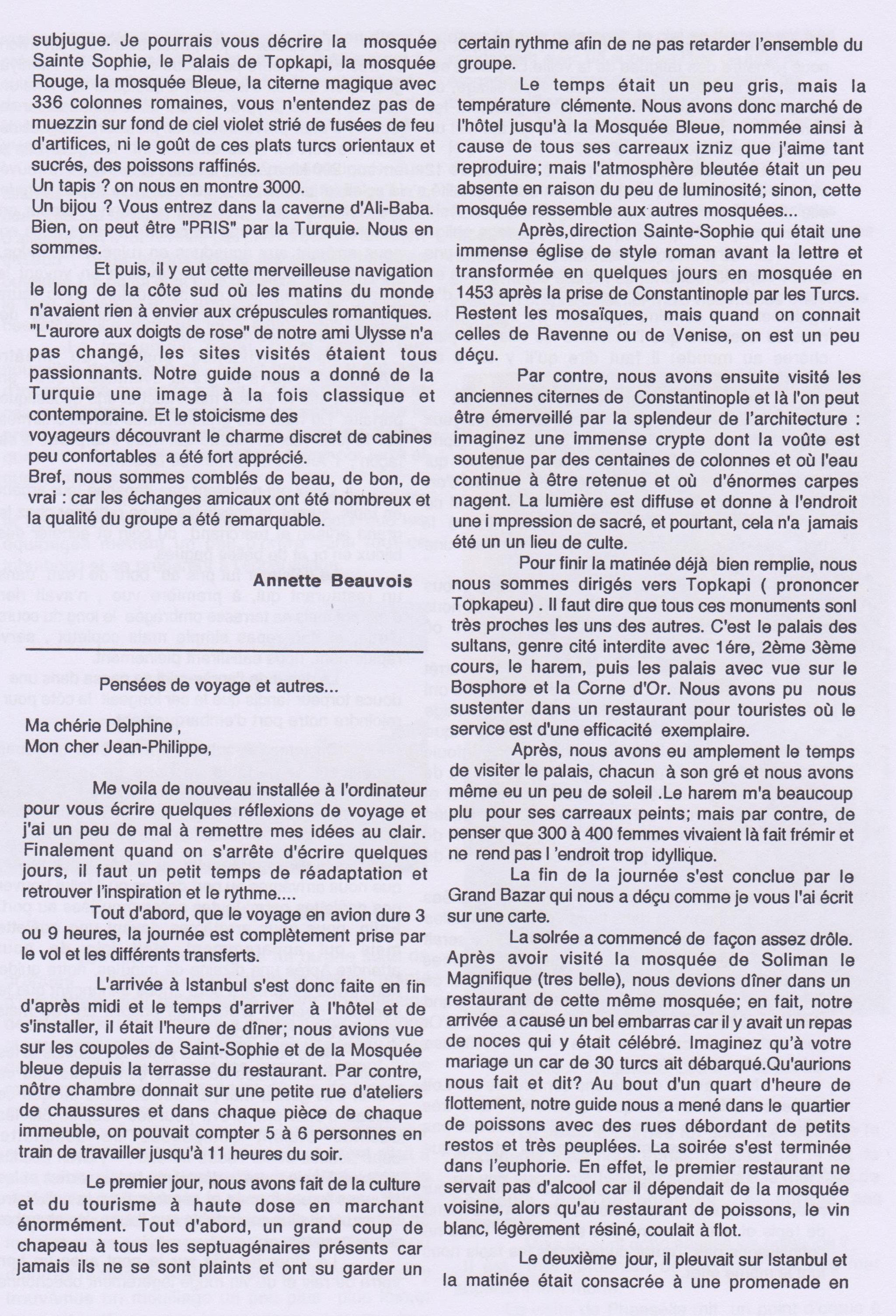 Voyage en Turquie-du 6 au 13 octobre 2000-page2a