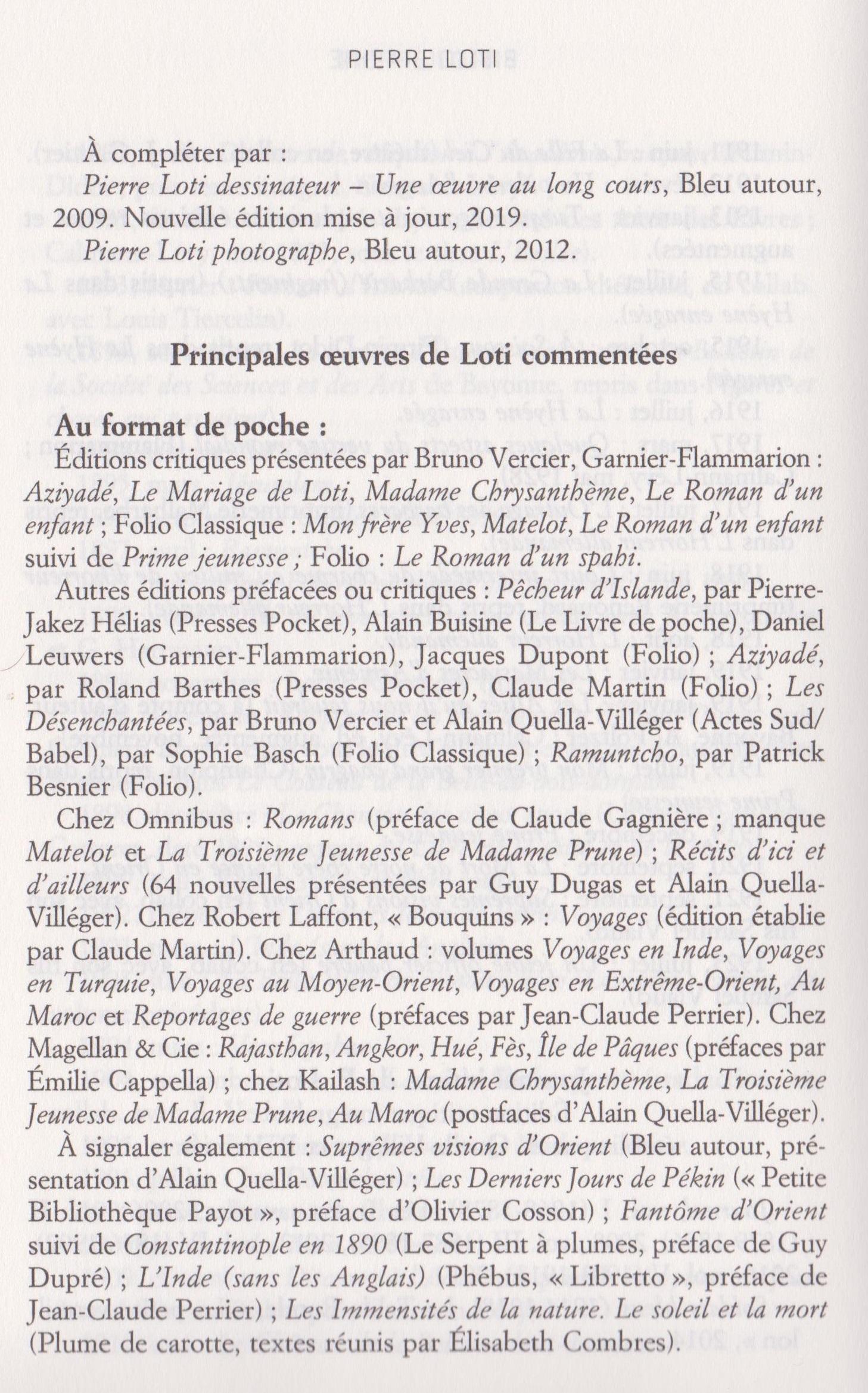 Oeuvres Pierre Loti et commentées-2