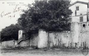 Bakharetchea vu de la Bidassoa, 1916 (fonds Médiathèque de Bayonne)