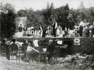 Représentation de Ramuntcho à Hendaye-Plage en 1927