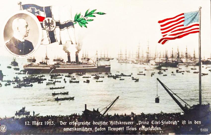 croiseur auxiliaire PRINZ EITEL FRIEDRICH