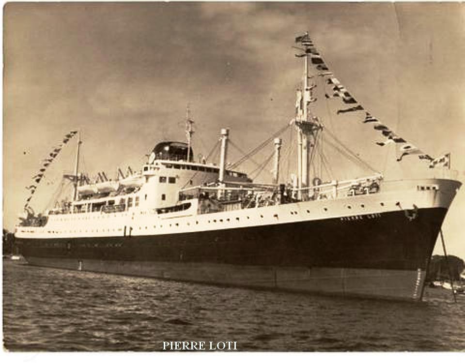 1967 PIERRE LOTI à Mombasa
