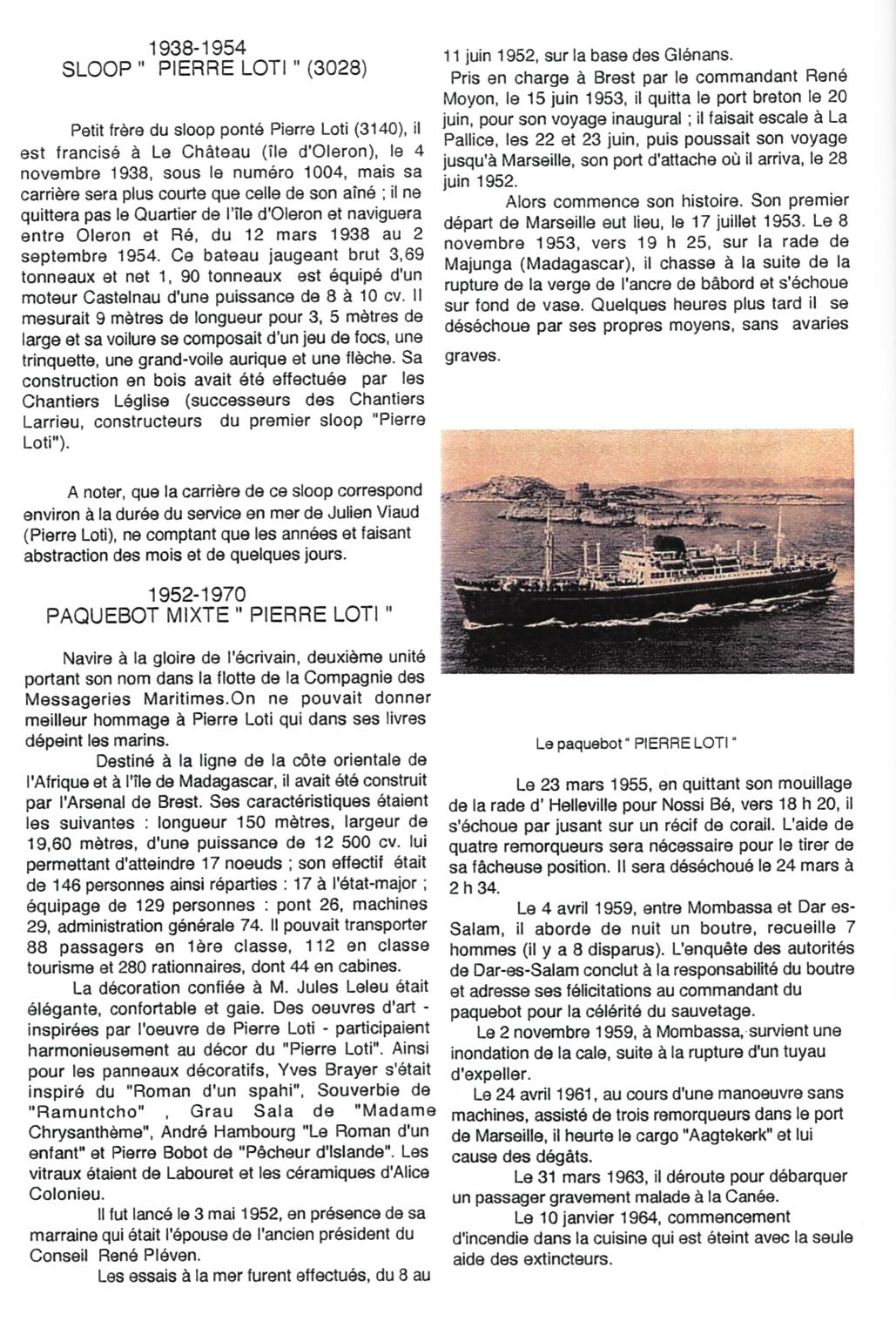 5-Bateaux et canots baptisés Pierre Loti - Jean Nonin