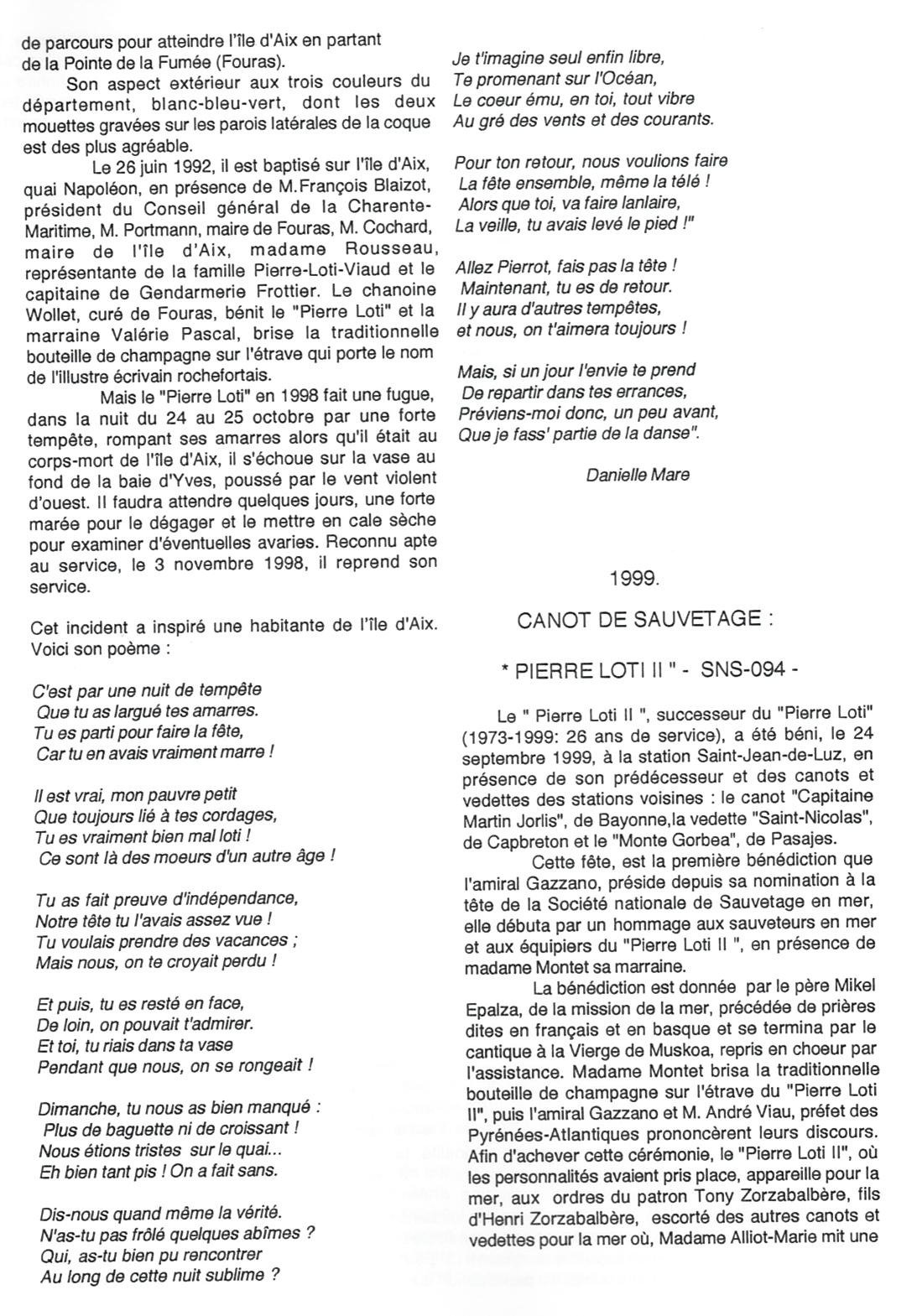 8-Bateaux et canots baptisés Pierre Loti - Jean Nonin