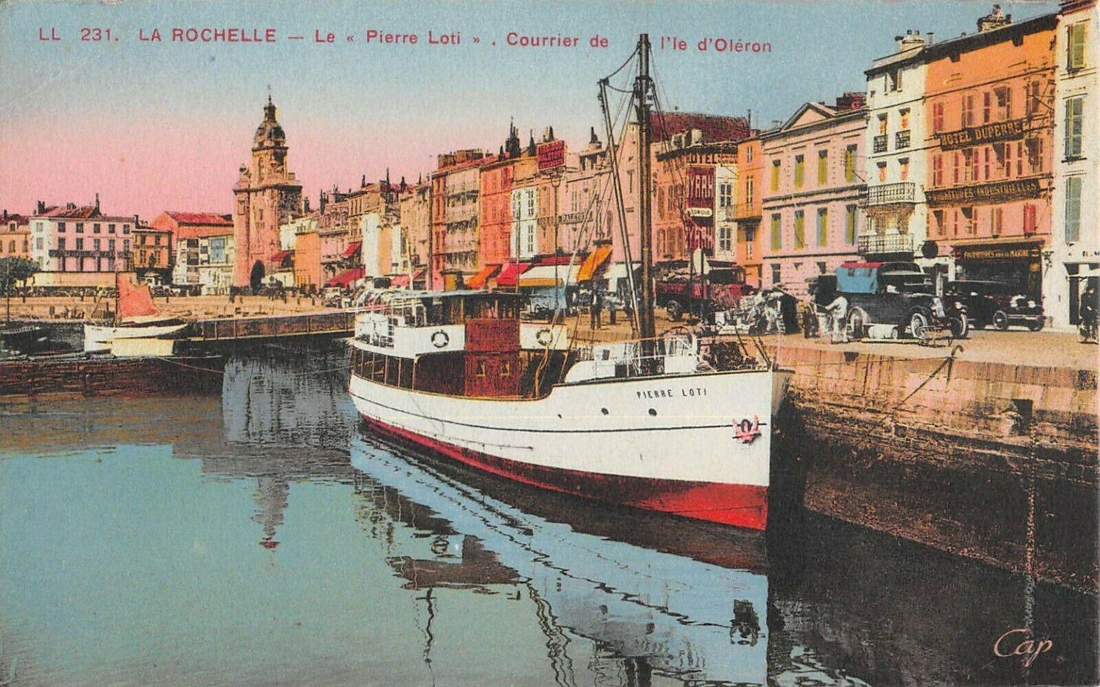 Cpa-17-La-Rochelle-Le-Pierre-Loti-Courrier
