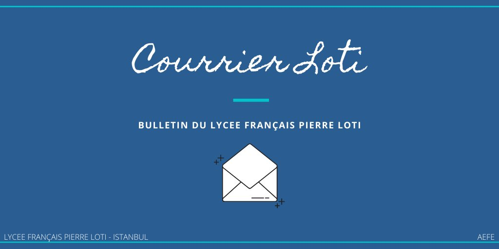 Courrier Loti-Istanbul