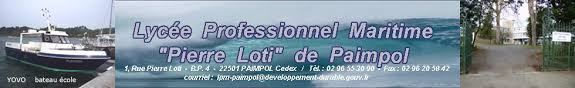 Logo bandeau Lycée Maritime Loti Paimpol
