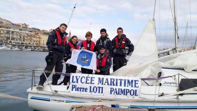 Voilier lycée martime Pierre loti-Paimpol