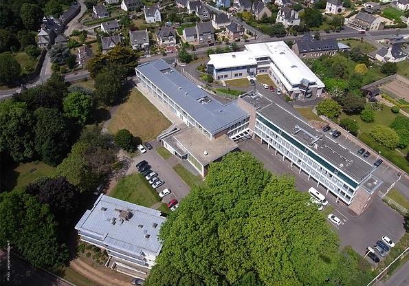 vue aérienne lycée pierre loti paimpol