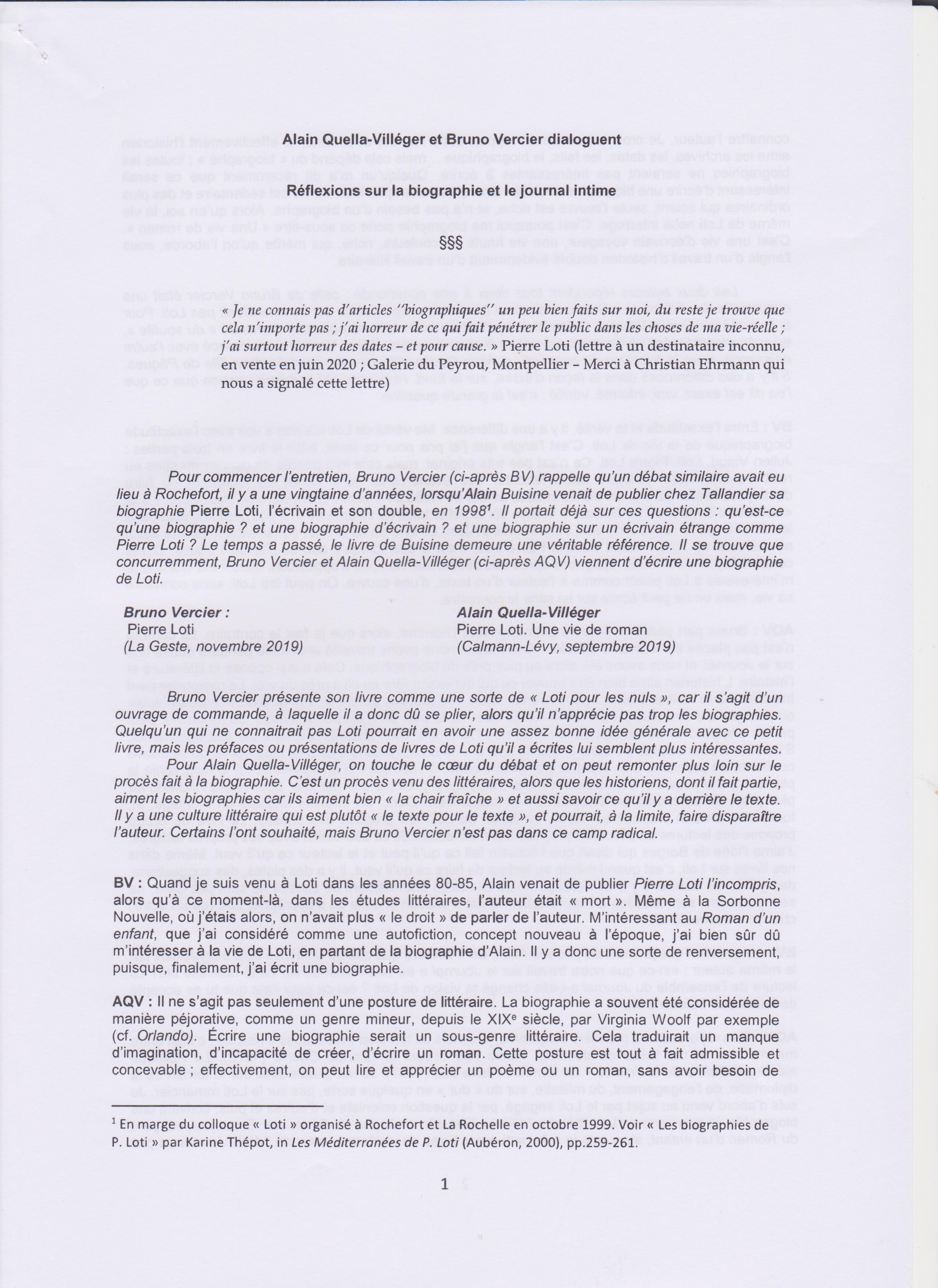 échanges AQV et BV-page1