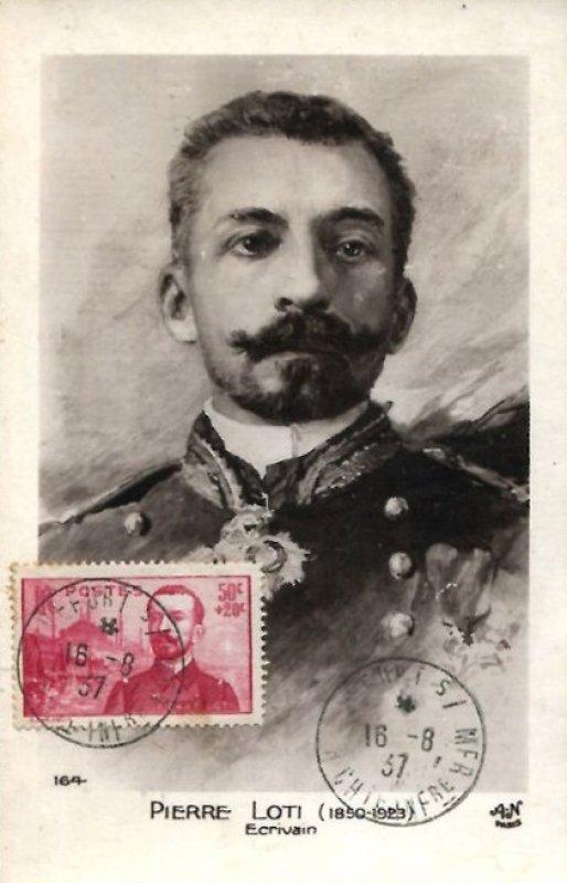 Loti Pierre timbre 1937 enveloppe
