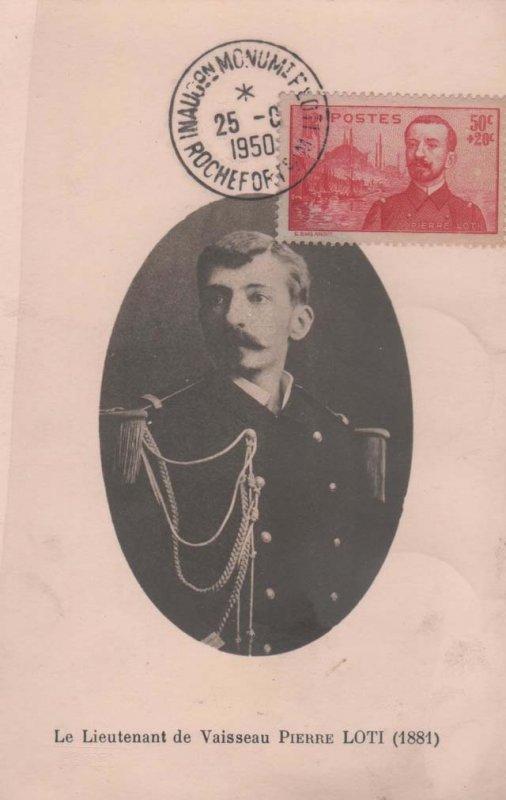 Loti timbre 1950 lieutenant de vaisseau
