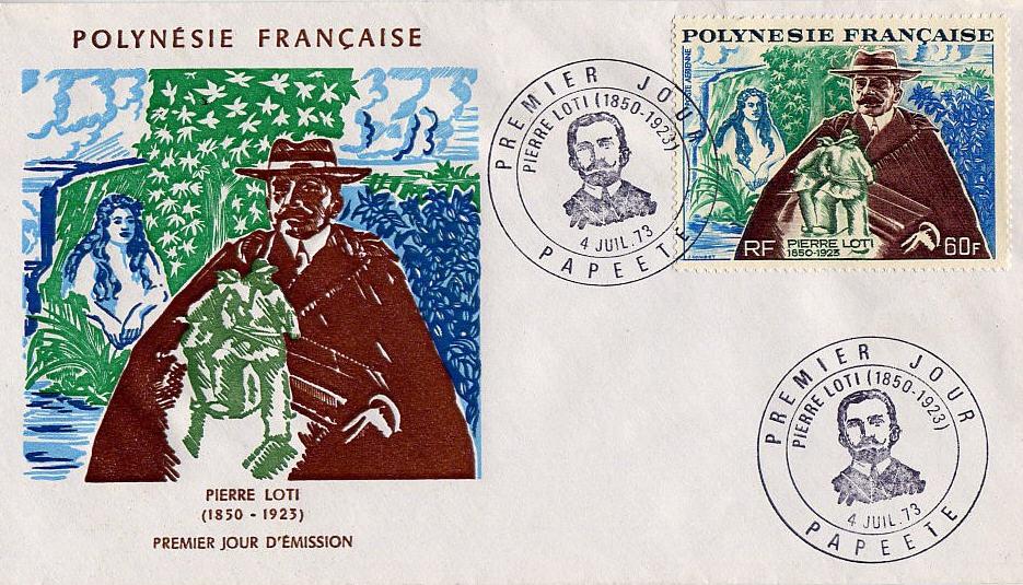 timbre polynesie 1er jour