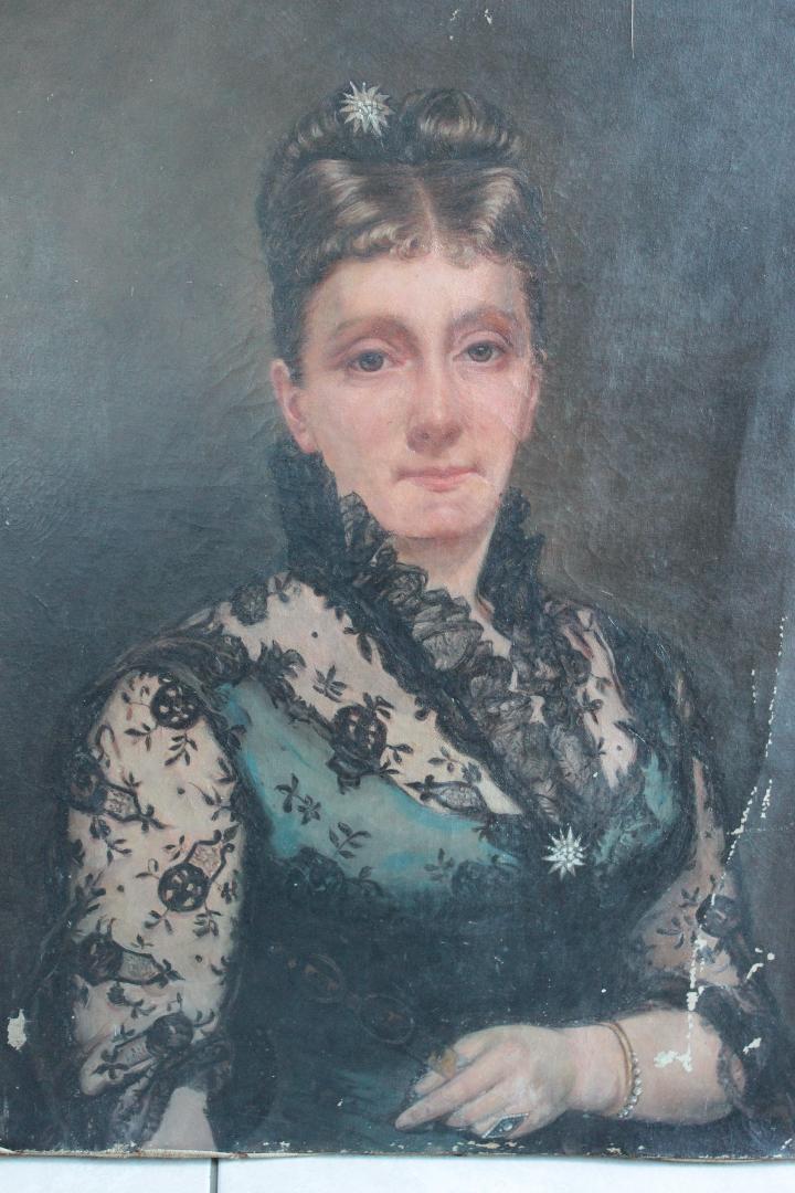 Marie Bon-autoportrait