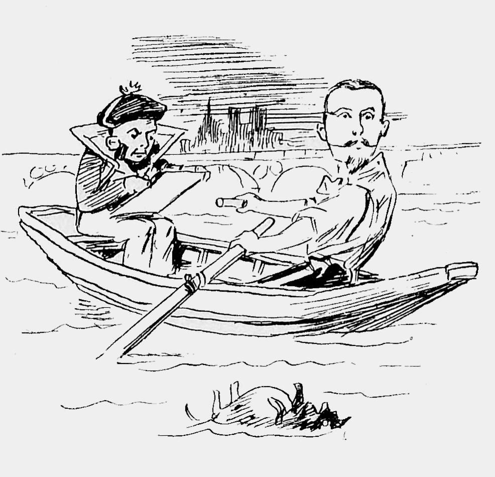 La Vie parisienne du 1er janvier 1898 – BnF Gallica