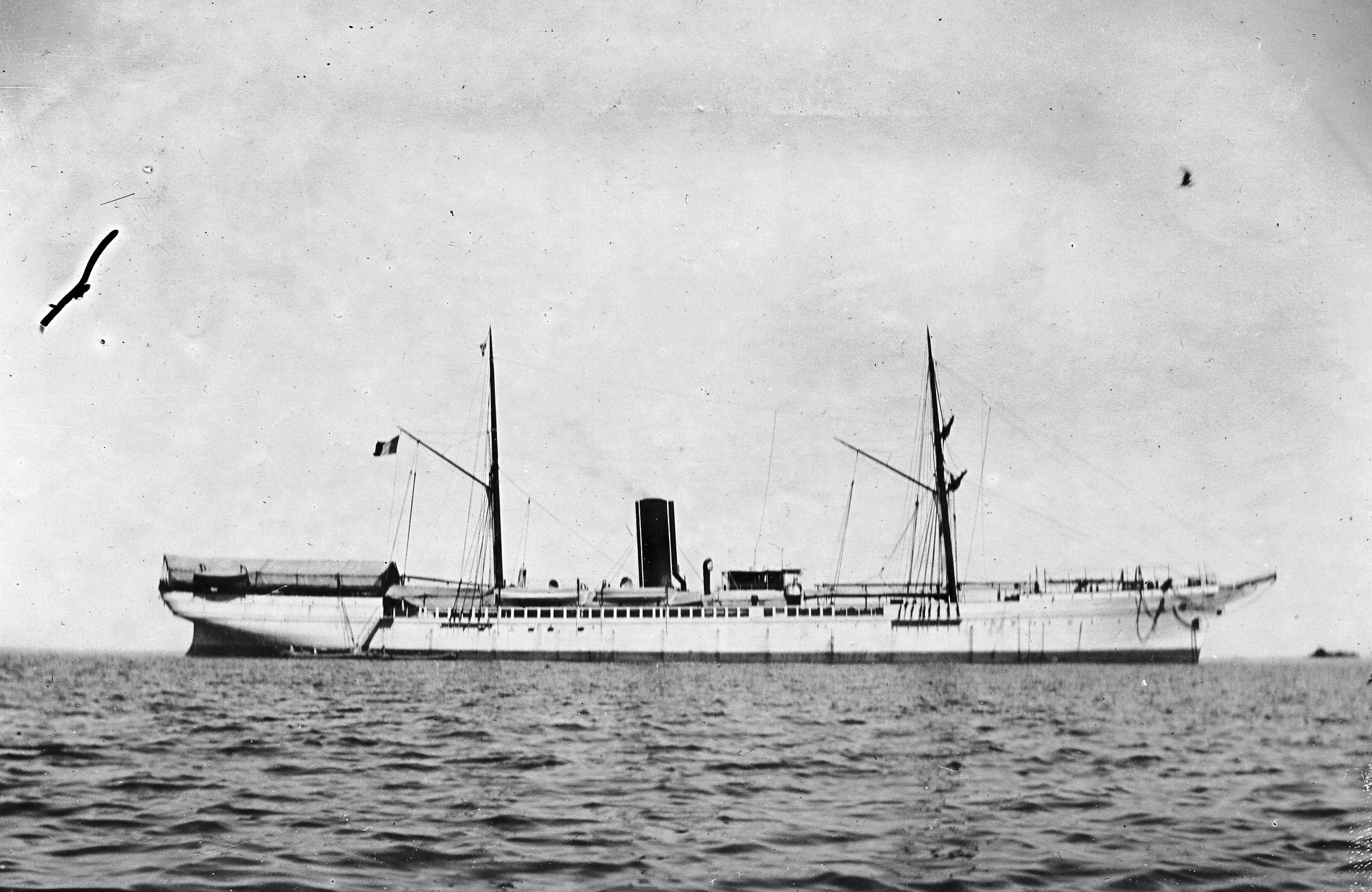 l'Alphée 2 mats 1888