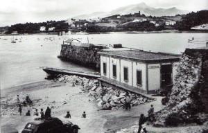 L'abris SNSM de Socoas dans les années 1950. Coll. SNSM