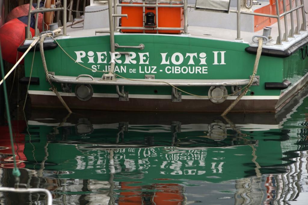 La poupe du Pierre Loti II.  © JLM