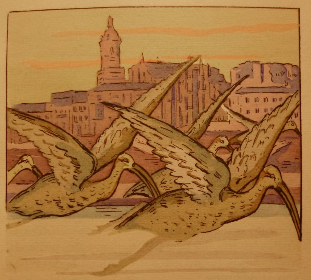 """Incipit de """"Ramuntcho"""" illustré par Pablo Tillac (1880-1969) pour l'édition Cyral, 1931 - exemplaire de la Médiathèque de Bayonne"""