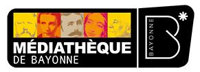logo médiathèque Bayonne