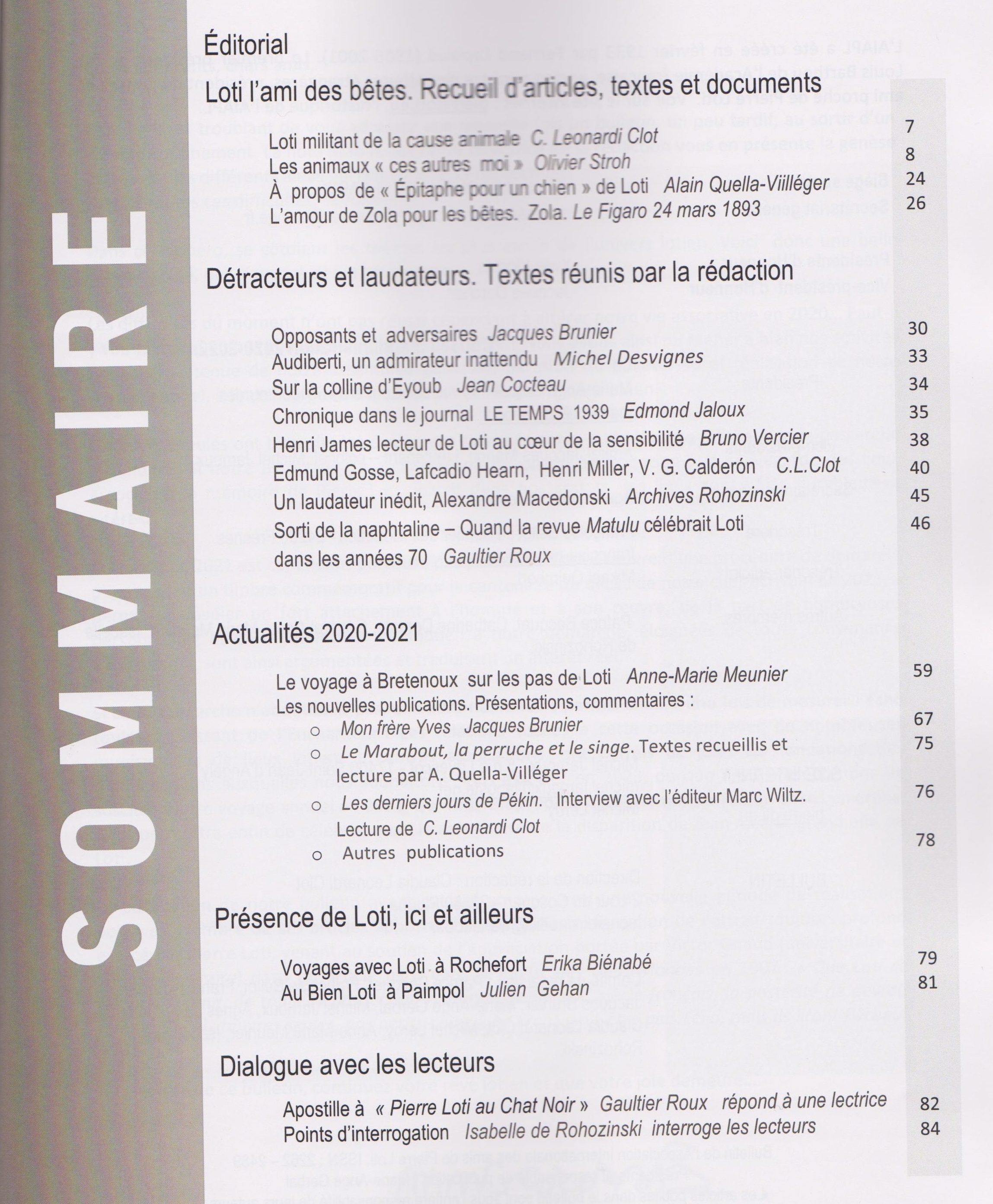 Sommaire 41