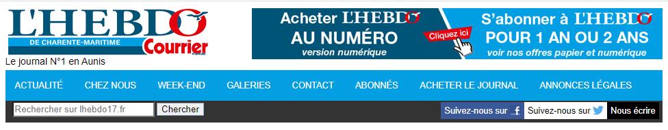 Logo Hebdo courrier1 7